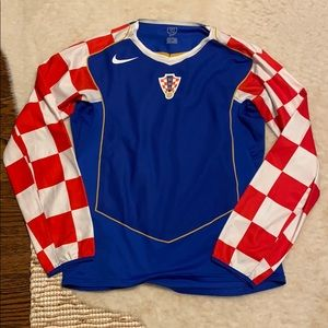 Nike Croatia L/S Jersey 2004-2006